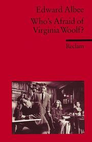 Cover of: Who's Afraid of Virginia Woolf? Fremdsprachentexte