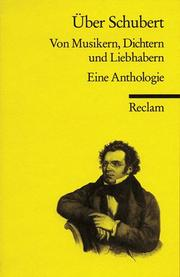 Cover of: Über Schubert