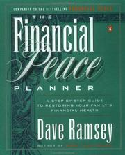 Cover of: The financial peace planner