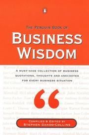 Cover of: Penguin Book of Business Wisdom