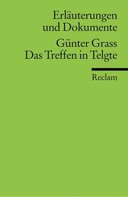 Cover of: Günter Grass, Das Treffen in Telgte