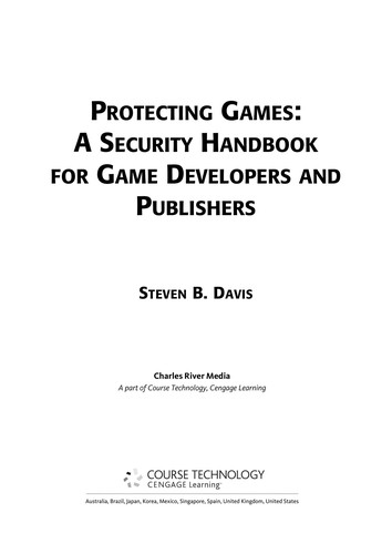 Protecting games by Steven B. Davis