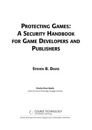 Cover of: Protecting games | Steven B. Davis