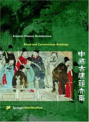 Cover of: Ritual and ceremonious buildings | Sun, Dazhang.