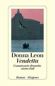 Cover of: Vendetta. Commissario Brunettis vierter Fall