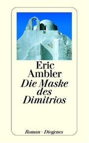 Cover of: Die Maske des Dimitrios