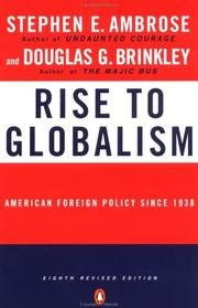 Cover of: Rise to globalism | Stephen E. Ambrose