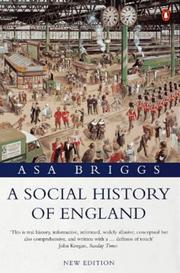 Cover of: A Social History of England