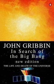 Cover of: In search of the big bang