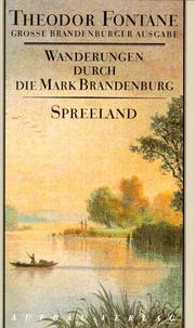 Cover of: Wanderungen durch die Mark Brandenburg