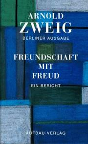 Cover of: Freundschaft mit Freud