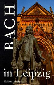 Cover of: Bach in Leipzig