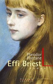 Cover of: Effi Briest Roman