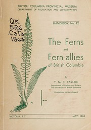The ferns and fern-allies of British Columbia by Thomas Mayne Cunninghame Taylor