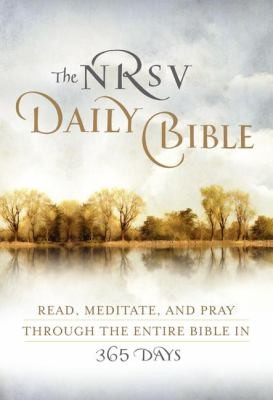 Image 0 of The NRSV Daily Bible: Read, Meditate, and Pray Through the Entire Bible in 365 D