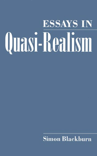 Image 0 of Essays in Quasi-Realism