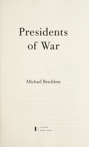 Image 0 of Presidents of War: The Epic Story, from 1807 to Modern Times