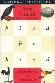 Book cover for Bird by Bird by Anne Lamott