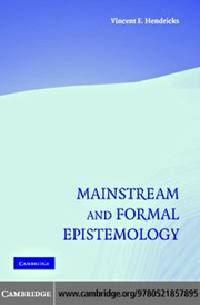MainstreamAndFormalEpistemology