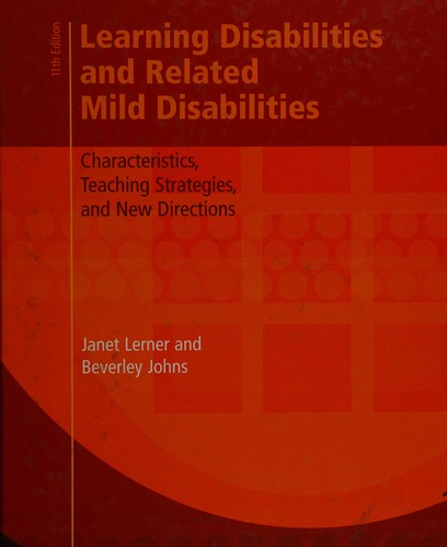 Image 0 of Learning Disabilities and Related Mild Disabilities: Characteristics, Teaching S