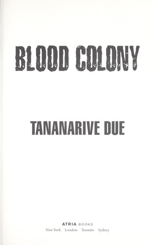 Image 0 of Blood Colony: A Novel