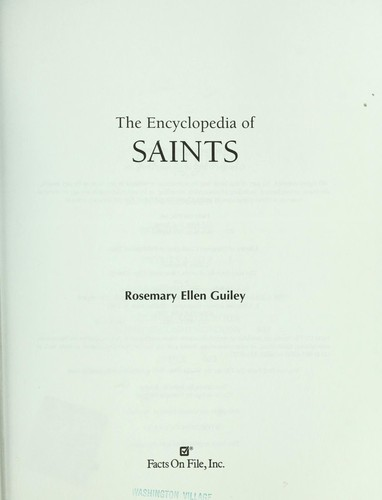 Image 0 of The Encyclopedia of Saints