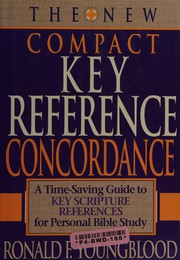 New Compact Key Reference Concordance