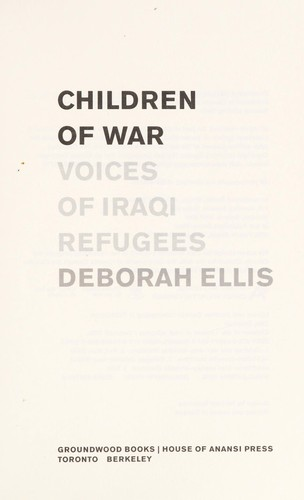 Image 0 of Children of War: Voices of Iraqi Refugees
