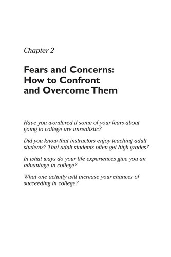 Image 0 of The Adult Student's Guide to Survival & Success
