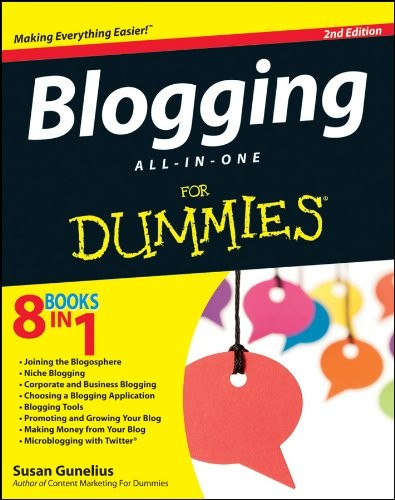 Image 0 of Blogging All-in-One For Dummies