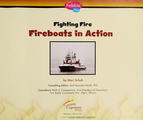 Image 0 of Fireboats in Action (Fighting Fire)