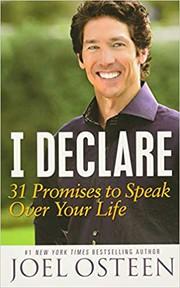 I declare 31 promises to speak over your life. / Joel Osteen.