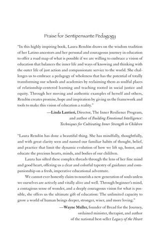 Image 0 of Sentipensante (Sensing/Thinking) Pedagogy: Educating for Wholeness, Social Justi