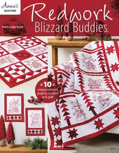 Image 0 of Redwork Blizzard Buddies (Annie's Quilting)