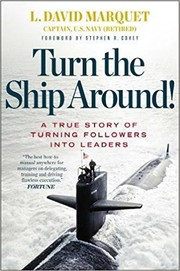 Book cover for Turn the Ship Around! by L. David Marquet