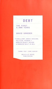Book cover for Debt: The First 5,000 Years by David Graeber