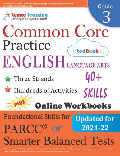 Common Core Practice - 3rd Grade English Language Arts: Workbooks to Prepare for