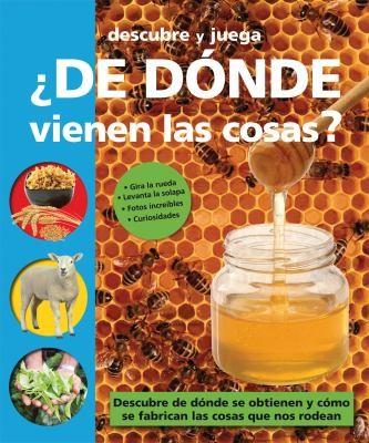 Image 0 of De donde vienen las cosas? (Descubre y juega) (Spanish Edition)