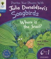 Oxford Reading Tree Songbirds: Level 3. Where Is, Donaldson, Julia, New