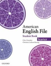 American English File Starter SB