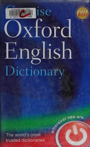 Libro de segunda mano: Concise Oxford English dictionary