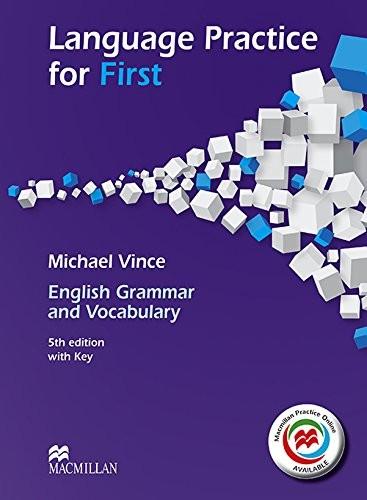 Libro de segunda mano: LANG PRACTICE FOR FIRST Sb+Key 5th