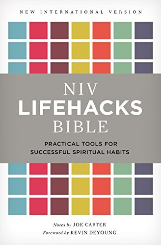 NIV, Lifehacks Bible: Practical Tools for Successful Spiritual Habits