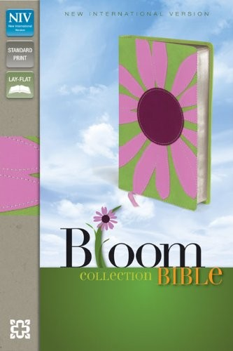 NIV Holy Bible Bloom Pink Daisy Lay Flat