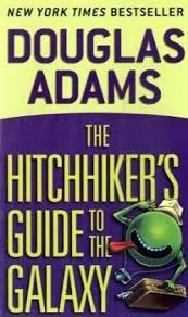 The Hitchhiker's Guide to the Galaxy book cover