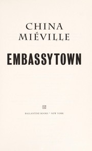 Book cover for Embassytown by China Miéville