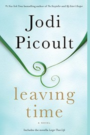 cover photo of leaving time book