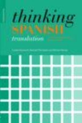 Libro de segunda mano: Thinking Spanish Translation A Course In Translation Method Spanish To English