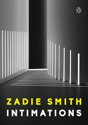 Book cover for Intimations by Zadie Smith