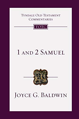 1 and 2 Samuel (TOTC) by Baldwin, Joyce G.
